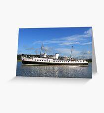 Balmoral Steamer Greeting Card