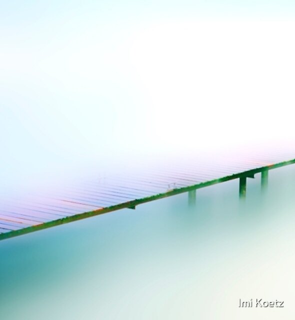 Old Jetty at Lake Geneva......... by Imi Koetz