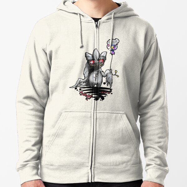 Banette and drifloon pokemon piece Zipped Hoodie