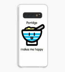 Porridge makes me happy Case/Skin for Samsung Galaxy