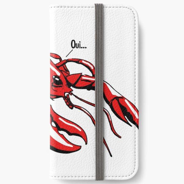 Lobster iPhone Wallet