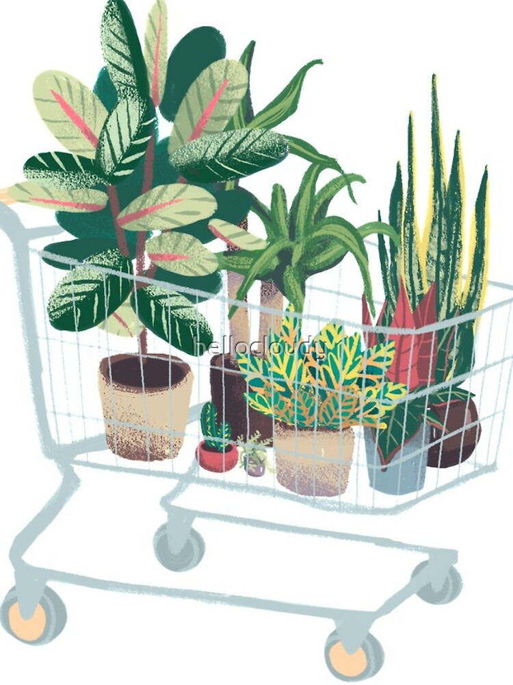 Plant friends by hellocloudy
