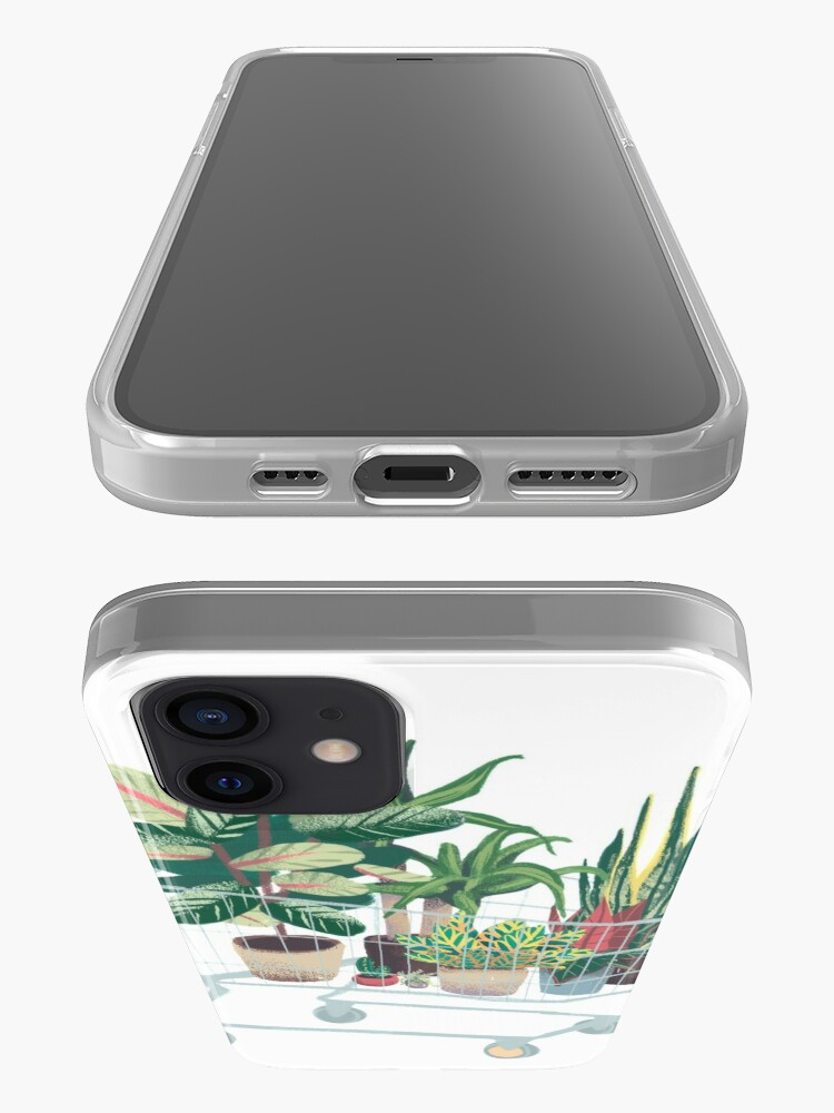 Alternate view of Plant friends iPhone Case & Cover