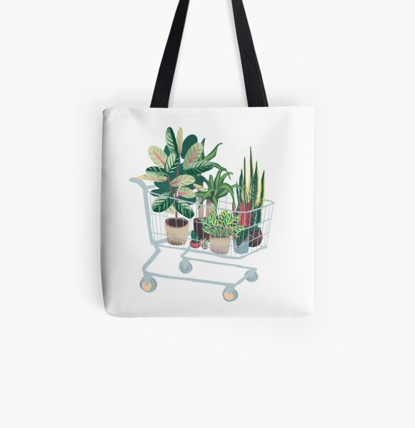 Plant friends All Over Print Tote Bag