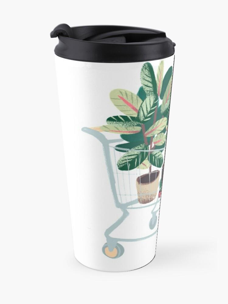 Alternate view of Plant friends Travel Mug