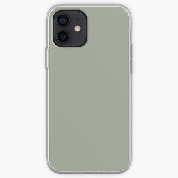 PANTONE 16-0110 TPX Desert Sage Coque souple iPhone
