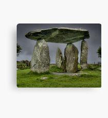 Pentre Ifan 2, Pembrokeshire, Wales Canvas Print