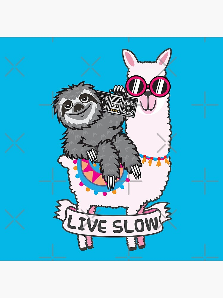 Sloth llama by plushism