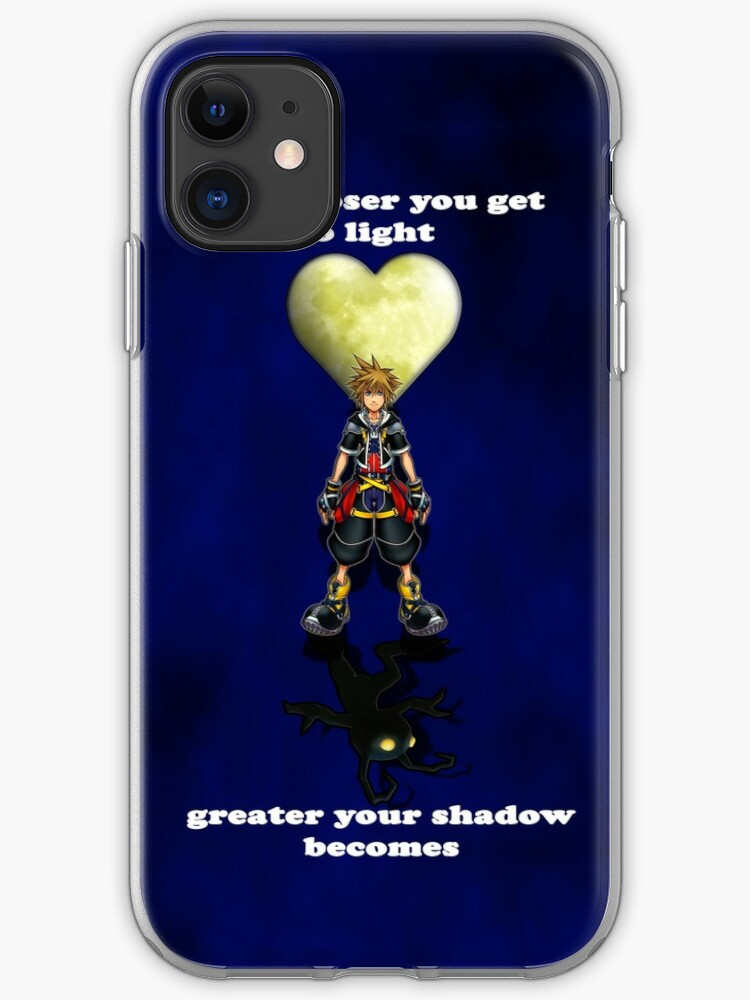 Sora Kingdom Hearts iphone case