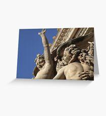 'The Dance' by Carpeaux, Paris Opera Garnier Greeting Card
