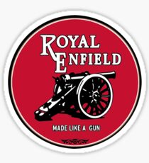 Classic Motorcycle Logos - Royal Enfield Sticker