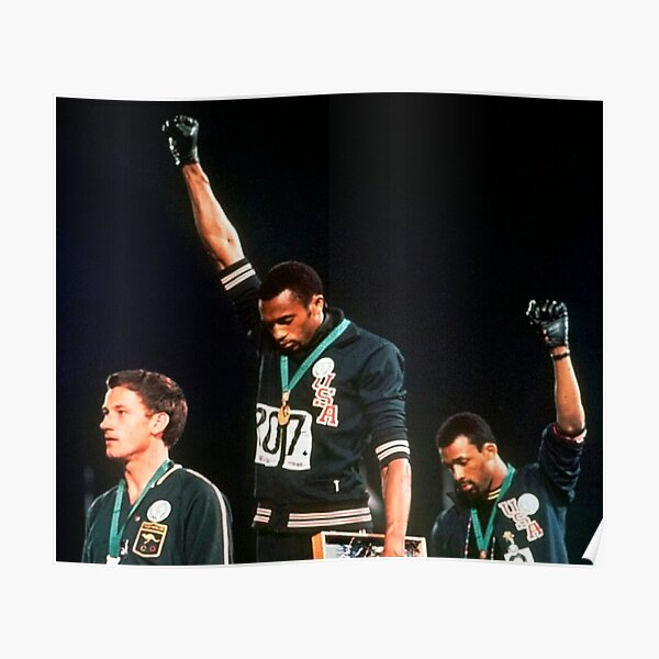 Olympic Black Power Salute Poster