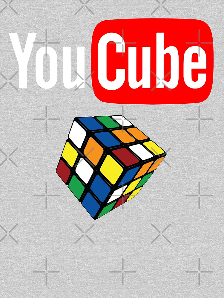You Cube Shirt Puzzle Cube Shirt by LuckyU-Design
