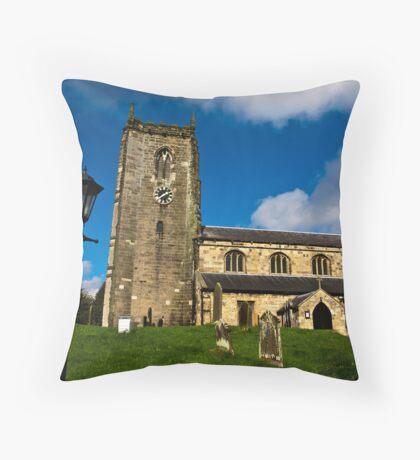 All Saints Church - Nafferton, East Yorkshire Throw Pillow
