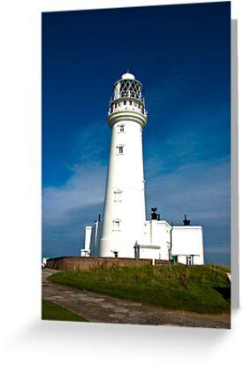 Flamborough Head Lighthouse by Trevor Kersley