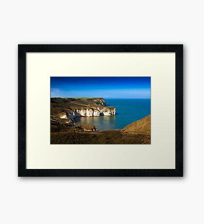 Coastal View Flamborough Head - East Yorks. Framed Print
