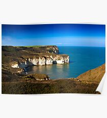 Coastal View Flamborough Head - East Yorks. Poster
