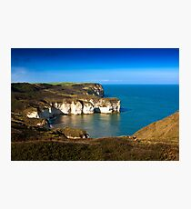Coastal View Flamborough Head - East Yorks. Photographic Print