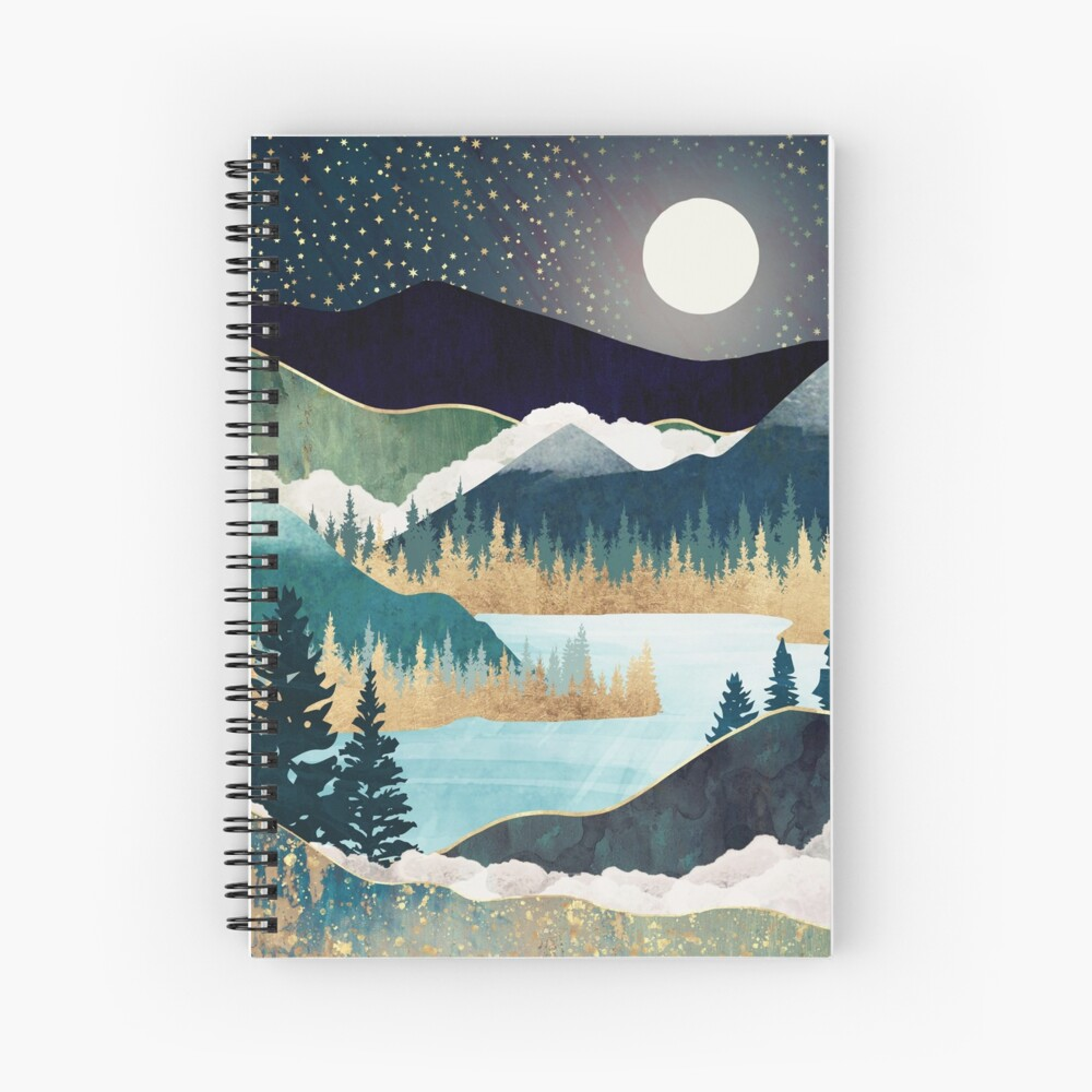 Star Lake Spiral Notebook