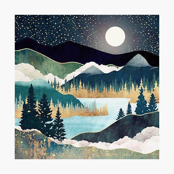 Star Lake Photographic Print