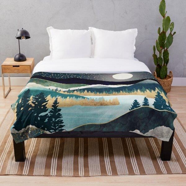 Star Lake Throw Blanket
