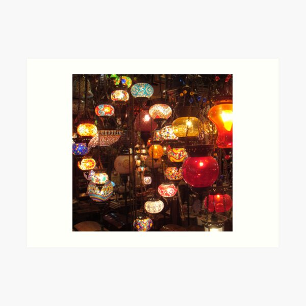 Arabic Lanterns Art Print