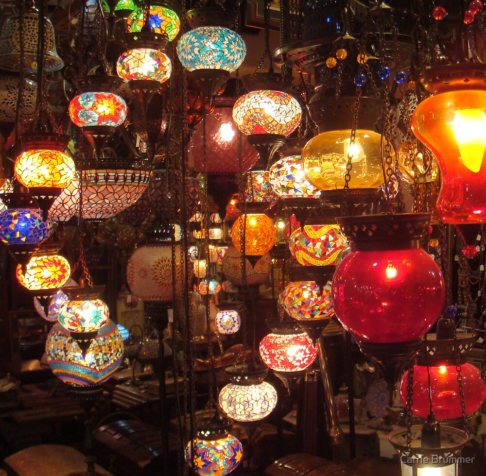 Arabic Lanterns by Carrie Brummer