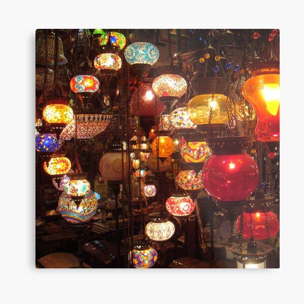 Arabic Lanterns Metal Print