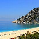 Myrtos Beach - Kefalonia by Honor Kyne
