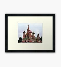St Basil's Cathedral Framed Print
