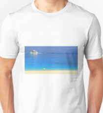 Ship and Shade - Myrtos Beach T-Shirt