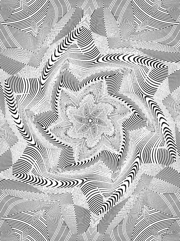 #Psychedelic #Hypnotic #Pattern, Visual #Illusion, Optical Art  by znamenski
