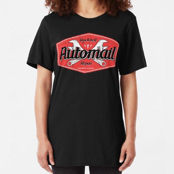 Rockbell Automail Repair Slim Fit T-Shirt