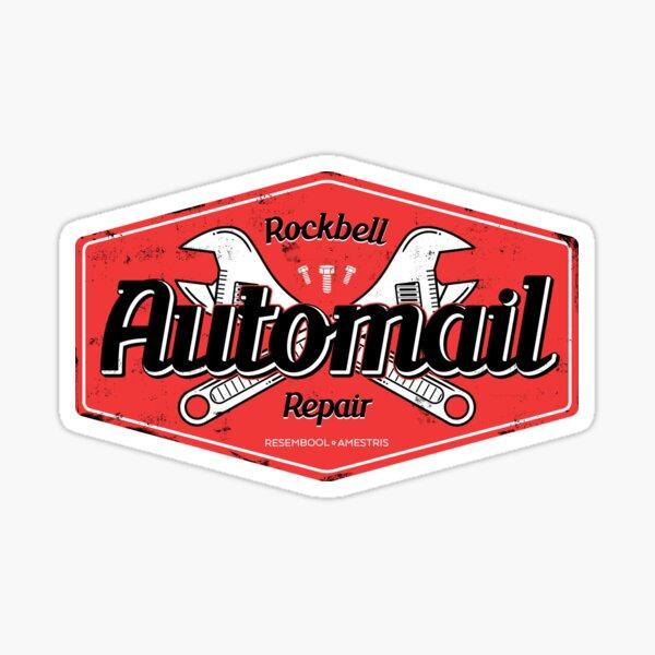 Rockbell Automail Repair Sticker
