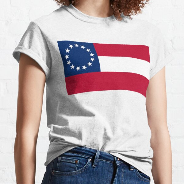 Flag of the Confederate States of America. 13 stars. November 28, 1861 to May 1, 1863. Classic T-Shirt