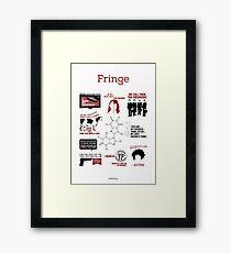 Fringe Quotes Framed Print