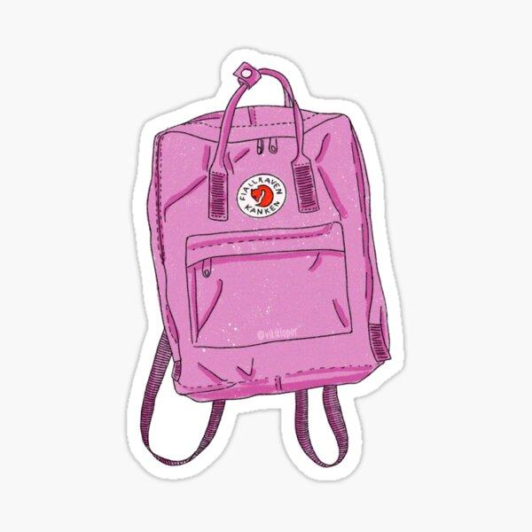 Pink Kanken  Sticker