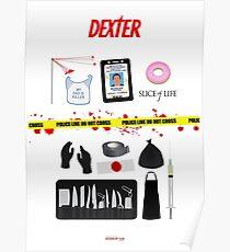 Dexter Morgan VS the Dark Passenger Poster