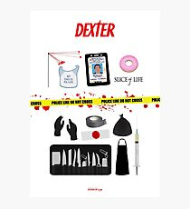 Dexter Morgan VS the Dark Passenger Photographic Print