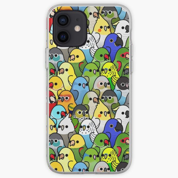 Too Many Birds! Bird Squad 1 iPhone Soft Case