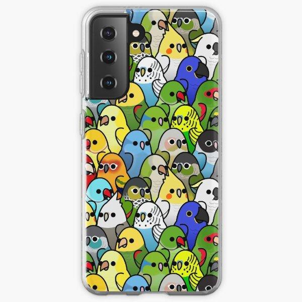 Too Many Birds! Bird Squad 1 Samsung Galaxy Soft Case