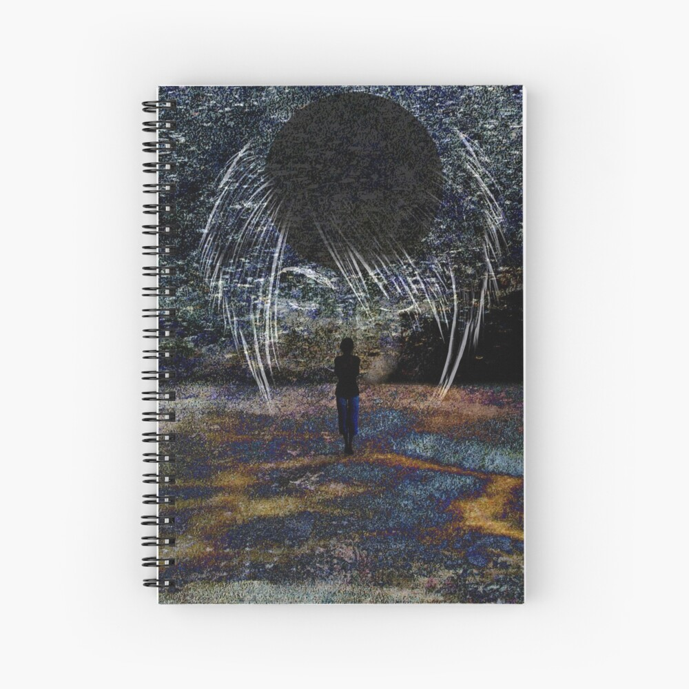 State of Dreams (New Moon) Spiral Notebook