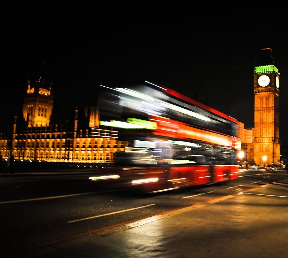 Westminster Bus by Sarah Price