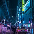 Taxi and Salaryman by Guillaume Marcotte