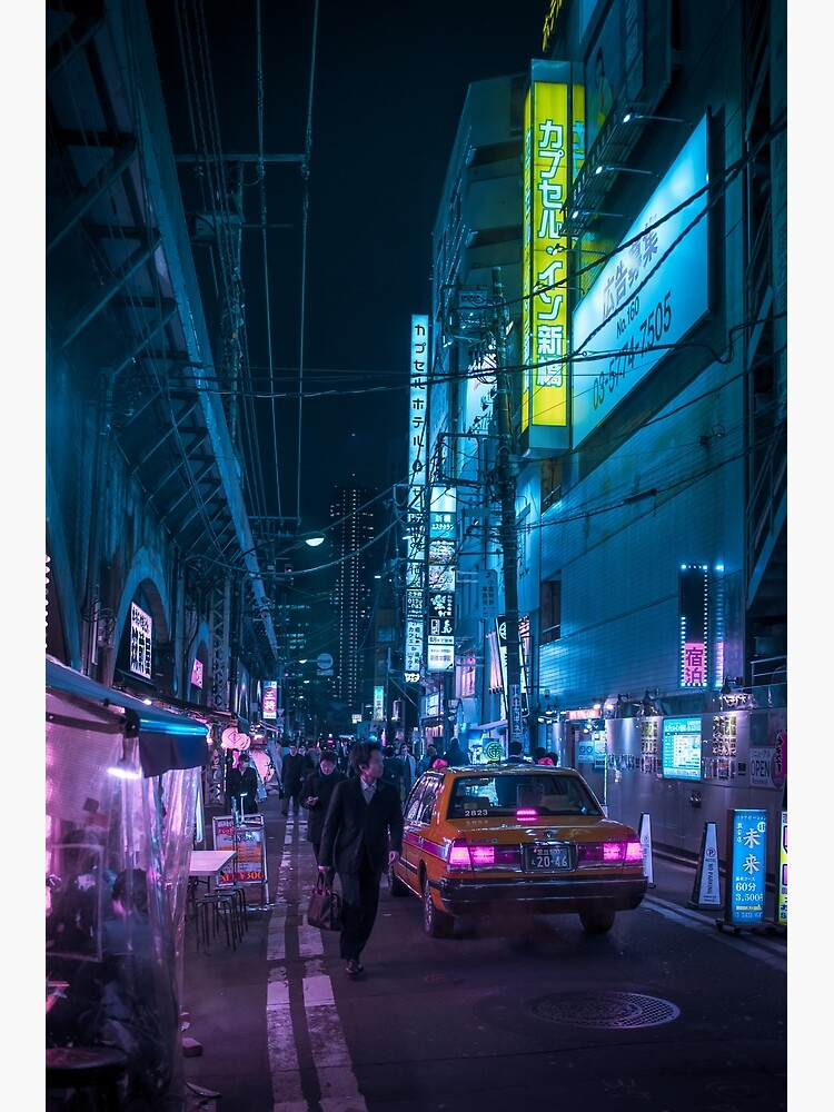 Taxi and Salaryman by TokyoLuv