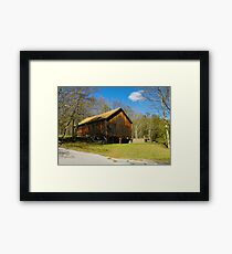 Community Barn Framed Print