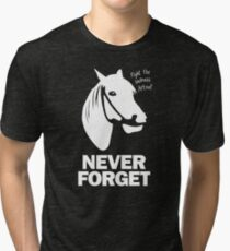 NEVER FORGET - Artax and the Swamps of Sadness Tri-blend T-Shirt