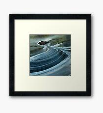 swirls below silverbridge - scotland Framed Print