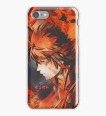 A Boy Brushed Red iPhone Case/Skin