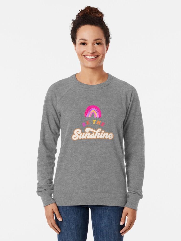 Alternative Ansicht von Sei der Sonnenschein - Pink Palette Leichter Pullover